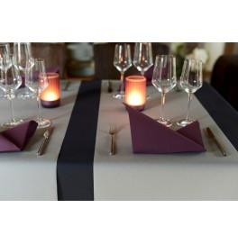 Салфетки бумажные Dunisoft Airlaid, цвет: слива, размер 40 х 40 см, 12 шт