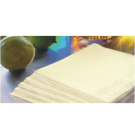 Салфетки 3-слойные, бумажные Duni Tissue, цвет: Ваниль, размер 40 х 40 см, 20 штук