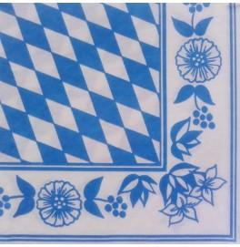 Салфетки бумажные Dunilin, цвет: Бавария, размер 40 х 40 см, 12 штук