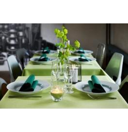 Салфетки бумажные Dunisoft Airlaid, цвет: темно-зеленый, размер 40 х 40 см, 12 шт