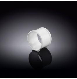 Кольцо для салфетки Wilmax. Цвет: белый