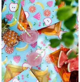 Скатерть – дорожка DUNICEL дизайнерская. Размер: 0,4 х 4.8 м. Цвет: FRUITS. 1 штука