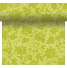 Скатерть – дорожка DUNICEL дизайнерская. Размер: 0,4 х 4.8 м. Цвет: VENEZIA GREEN. 1 штука
