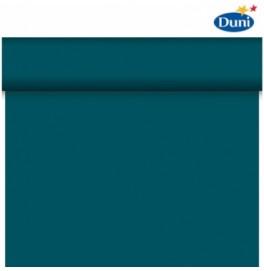 Скатерть – дорожка DUNICEL. Размер: 0,4 х 4.8 м. Однотонная цветная. Цвет: Океан Теал . 1 штука