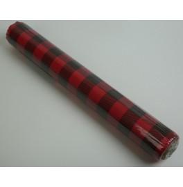 Скатерть – дорожка бумажная дизайнерская. Размер: 0,4 х 4.8 м. Цвет: Клетка. 1 штука