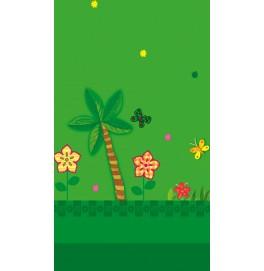 Скатерть детская 120x180 см. Цвет: JUNGLE FRIEND (джунгли). 1 штука