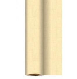 Скатерть DUNISILK 1,18 х 25 м с водоотталкивающим покрытием. Цвет: LINNEA CREAM. 1 штука