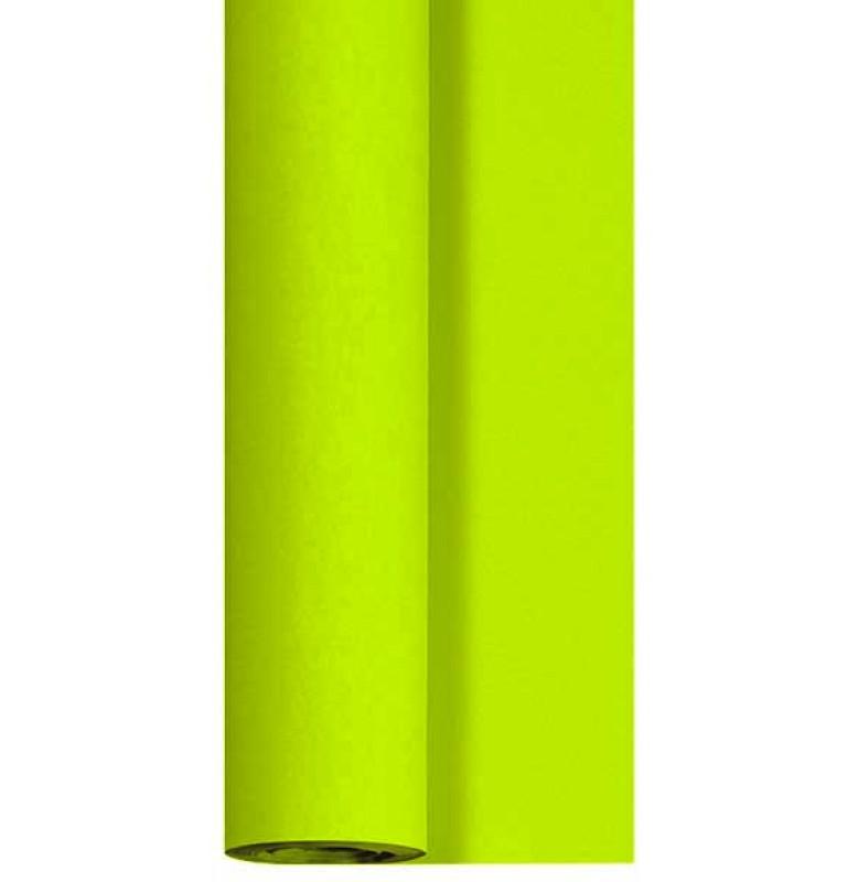 Скатерть DUNICEL 1,25 х 10 м банкетная в рулонах. Цвет: киви. 1 штука