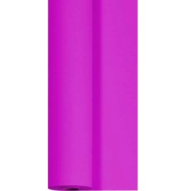 Скатерть DUNICEL 1,25 х 10 м банкетная в рулонах. Цвет: фуксия. 1 штука