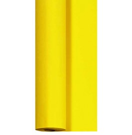 Скатерть DUNICEL 1,25 х 10 м банкетная в рулонах. Цвет: желтый. 1 штука