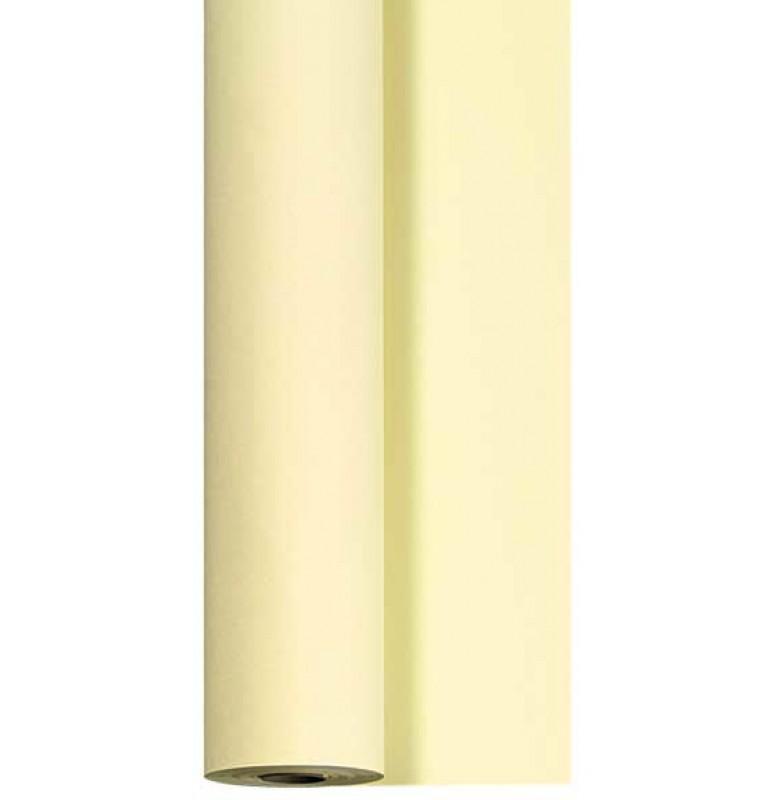 Скатерть DUNICEL 1,25 х 25 м банкетная в рулонах. Цвет: ваниль. 1 штука