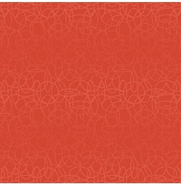 Скатерть (наперон) 84 см х 84 см, дизайнерские с водостойким покрытием.  CIRCUTIS MANDARIN. 1 штука