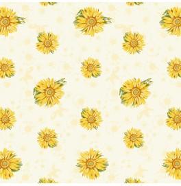 Скатерти (наперон) 84 см х 84 см, дизайнерские с водостойким покрытием. Цвет: SUNRAY