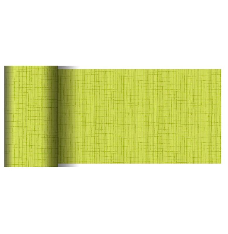Скатерть (наперон) 84 см х 84 см, дизайнерские с водостойким покрытием. Цвет: LINNEA KIWI. 1 штука