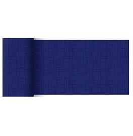 Скатерти (наперон) 84 см х 84 см, дизайнерские с водостойким покрытием. Цвет: LINNEA DARK BLUE