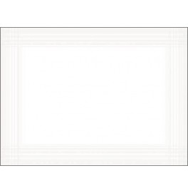 Подтарельники DUNICEL MAITRE, 30х40 см, 1 шт. Цвет: белый