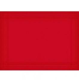 Подтарельники DUNICEL , 30х40 см 10 шт. Цвет: LINNEA RED