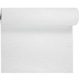 Скатерть – дорожка EVOLIN. Размер: 0,4 х 24 м. Однотонная цветная. Цвет: Белый. 1 штука