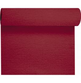 Скатерть – дорожка EVOLIN. Размер: 0,4 х 24 м. Однотонная цветная. Цвет: Бордо