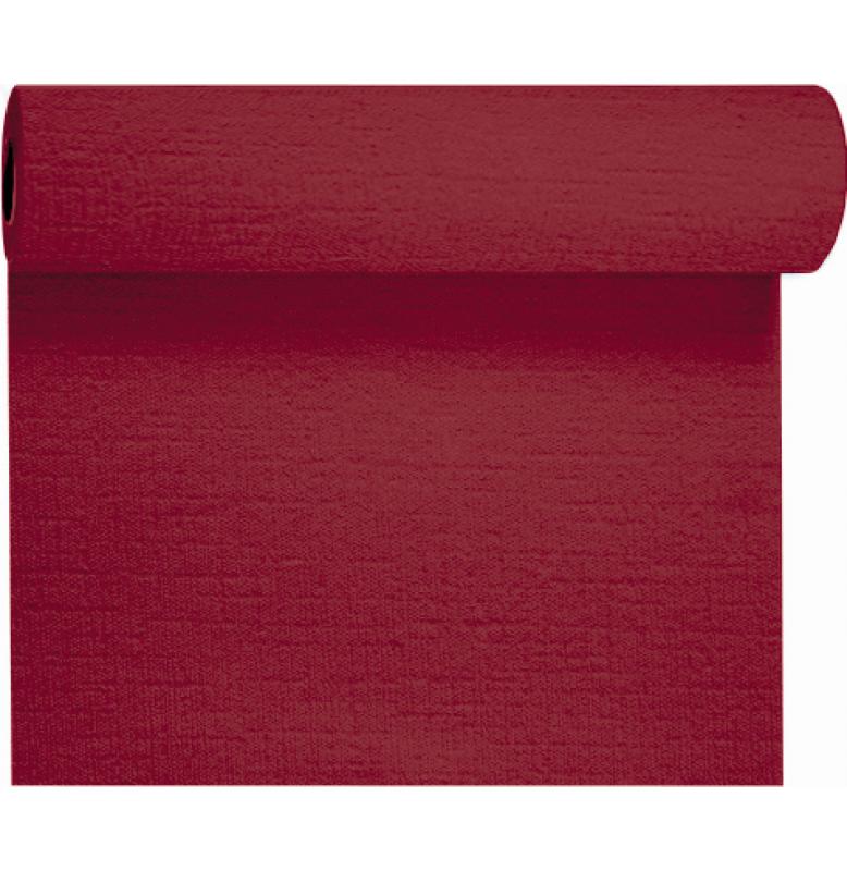 Скатерть – дорожка EVOLIN. Размер: 0,4 х 24 м. Однотонная цветная. Цвет: Бордо. 1 штука