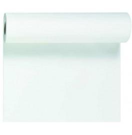 Скатерть – дорожка DUNICEL. Размер: 0,4 х 24 м. Однотонная цветная. Цвет: Белый, 1 штука