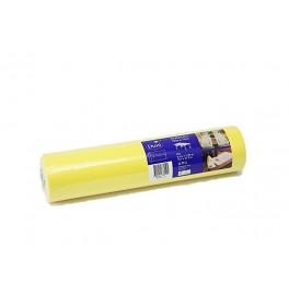 Скатерть – дорожка DUNICEL. Размер: 0,4 х 4.8 м. Однотонная цветная. Цвет: Жёлтый. 1 штука