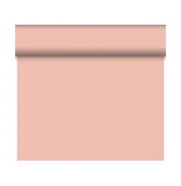 Скатерть – дорожка DUNICEL. Размер: 0,4 х 24 м. Однотонная цветная. Цвет: Розовый, 1 штука