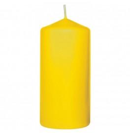 Свеча PILLAR 100х50 мм. Цвет: жёлтый; 1 шт