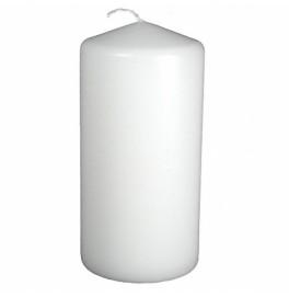 Свеча PILLAR 150х70 мм. Цвет: матовый белый; 1 шт