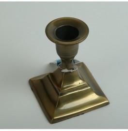 Подсвечник металлический. Цвет: бронза. 1 штука. 6,8х6,8 см