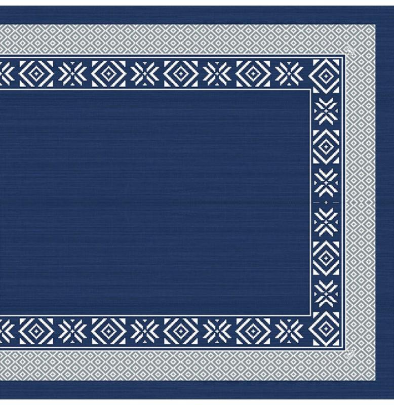 Скатерть 84х84 Dunicel Синяя