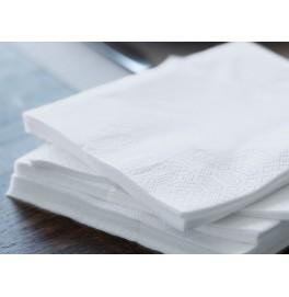 Салфетки бумажные Duni Tissue, цвет: Белый, размер 40 х 40 см, 3-х слойные, 20 штук