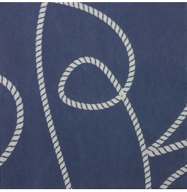 """Салфетки бумажные, цвет : """"Морской Узел"""", размер 40х40, 20 штук"""