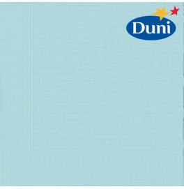 Салфетки бумажные Duni Classic, цвет: Голубой/мятный, размер 40 х 40 см, 4-х слойные, 50 штук
