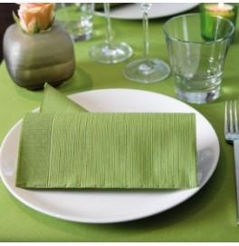 Салфетки бумажные Duni Classic, цвет: Пальмовый, размер 40 х 40 см, 4-х слойные, 50 штук