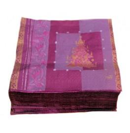 Салфетки бумажные Duni Дизайнерские, цвет: NEW YEAR, размер 33 х 33 см.