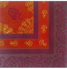 Салфетки бумажные Dunilin, цвет: Узор, размер 40 х 40 см, 12 штук