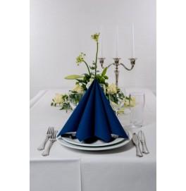 Салфетки бумажные Dunisoft Airlaid, цвет: Тёмно-синий, размер 40 х 40 см, 60 штук