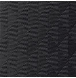 Салфетки бумажные ELEGANCE CRYSTAL 40х40 см, цвет: Чёрный, размер 40 х 40 см, 40 штук