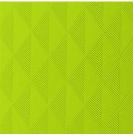Салфетки бумажные ELEGANCE CRYSTAL 40х40 см, цвет: Киви, размер 40 х 40 см, 40 штук