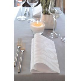 Салфетки бумажные ELEGANCE LILY 40х40 см, цвет: Белый, размер 40 х 40 см, 40 штук