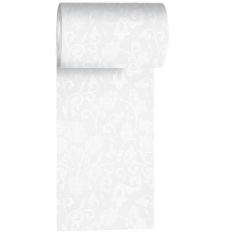 Дорожка DUNICEL damast 0,15 х 20 м. Цвет: белый. 1 штука