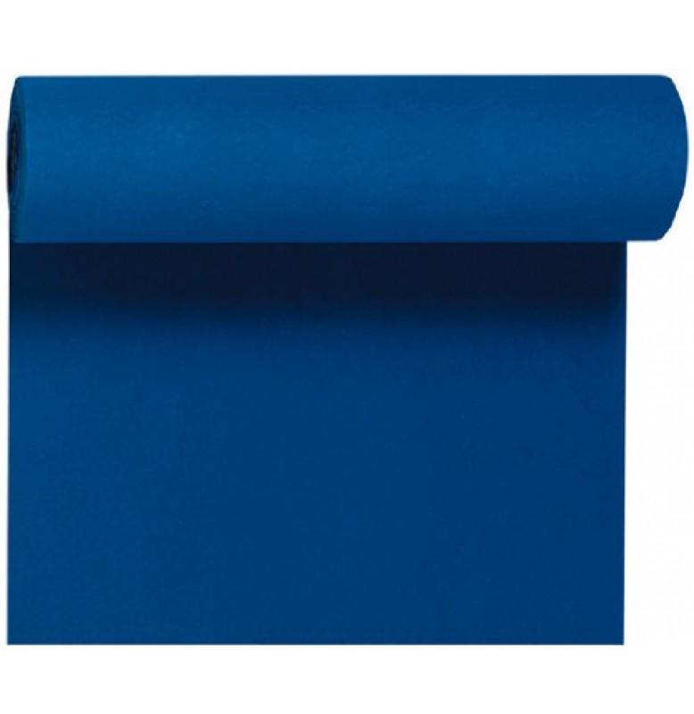 Скатерть – дорожка DUNICEL. Размер: 0,4 х 24 м. Однотонная цветная. Цвет: Тёмно-синий. 1 штука