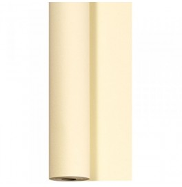 Скатерть – дорожка бумажная DUNICEL. Размер: 0,4 х 4.8 м. Однотонная цветная. Цвет: Ваниль. 1 штука