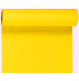 Скатерть – дорожка бумажная DUNICEL. Размер: 0,4 х 4.8 м. Однотонная цветная. Цвет: Жёлтый. 1 штука