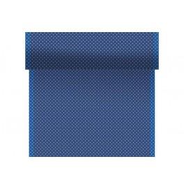 Скатерть – дорожка DUNICEL дизайнерская. Размер: 0,4 х 4.8 м. Цвет: BROOK BLUE, 1 штука
