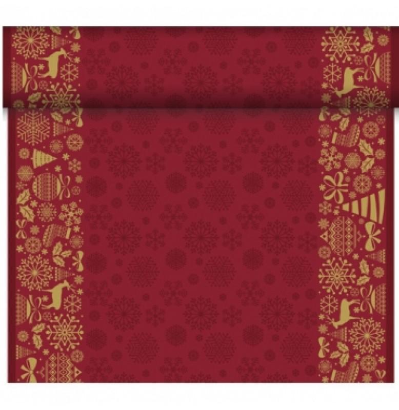 Скатерть – дорожка DUNICEL дизайнерская. Размер: 0,4 х 4.8 м. Цвет: DIVINE , 1 штука