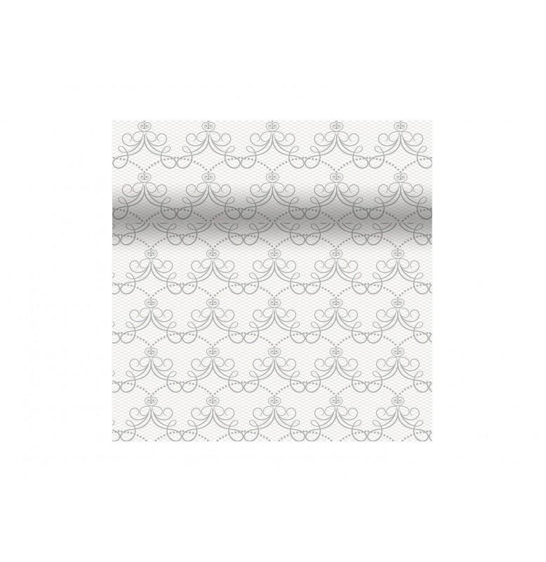 Скатерть – дорожка DUNICEL дизайнерская. Размер: 0,4 х 4.8 м. Цвет: MILENA, 1 штука