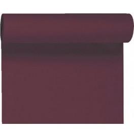 Скатерть – дорожка DUNICEL. Размер: 0,4 х 24 м. Однотонная цветная. Цвет: Слива. 1 штука