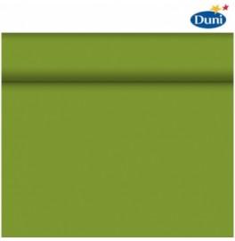 Скатерть – дорожка DUNICEL. Размер: 0,4 х 24 м. Однотонная цветная. Цвет: Травяной зелёный, 1 штука